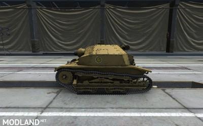 Girls und Panzer Anzio skin for TKS 20 6 [1.2.0], 2 photo